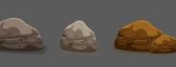 Adobe illustrator CS6绘制游戏风格的石头视频教学