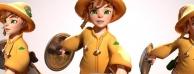 【CG微资讯】风格化的战士:简单可爱的角色设计