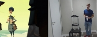 KLAUS的动画实拍参考视频对比