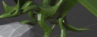 在blender中10分钟做一条龙并绑定