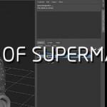 在maya中制作超人的头发的技巧
