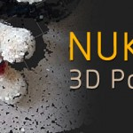 NUKE三维跟踪点云与合成的应用教学