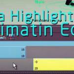 maya动画流程精简Highlight教学
