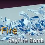 3dsmax破碎插件RayFire的虚拟体使用教学