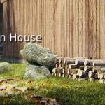 小红帽的现代别墅的效果表现制作流程