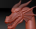 0331_How_To_Use_Zsketch_Modeling_A_Dragon_Head_Banner