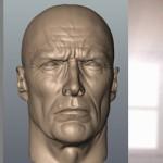 军官 Thomas Highway肖像制作流程
