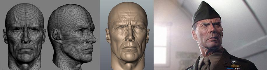 写实CG肖像制作流程教学