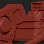 ZBrush4 硬表面雕刻机械行走装置教学