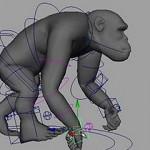 maya Stretch IK 绑定python脚本及使用教程