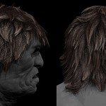 使用maya的xGen功能创建角色毛发效果