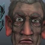 maya创建游戏用头发模型和贴图