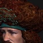 在maya中制作游戏使用的毛发效果教程