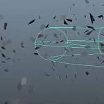 使用maya的Nmesh制作模型飞散组合特效