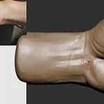 使用ZBrush雕刻拳头的模型教程