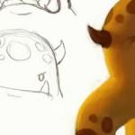 2小时完整可爱怪物角色绘制视频教学