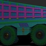 zbrush4 R7最新建模功能制作演示—卡车建模