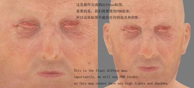 3ds max皮肤diffuse贴图
