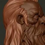 zbrush雕刻超酷矮人头像视频教学