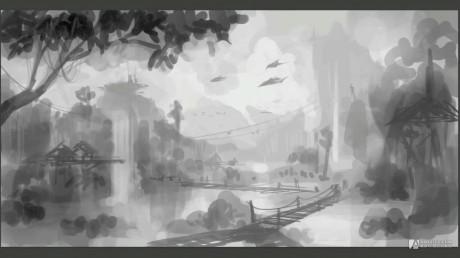 Blizzard Entertainement Concept Art- Lost World.mp4_20150607_205357.537