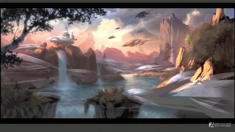 Blizzard Entertainement Concept Art- Lost World.mp4_20150607_205458.440