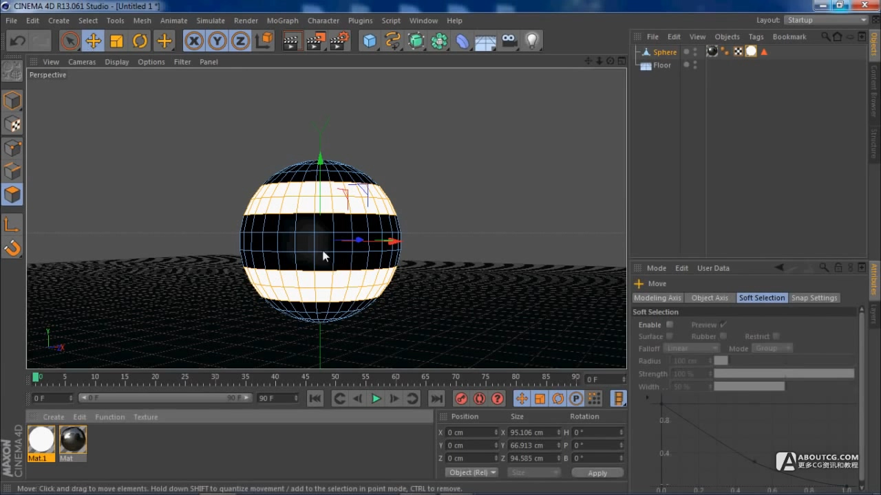 Cinema 4D Beginners Tutorial Light Balls.mp4_20150626_103242.422