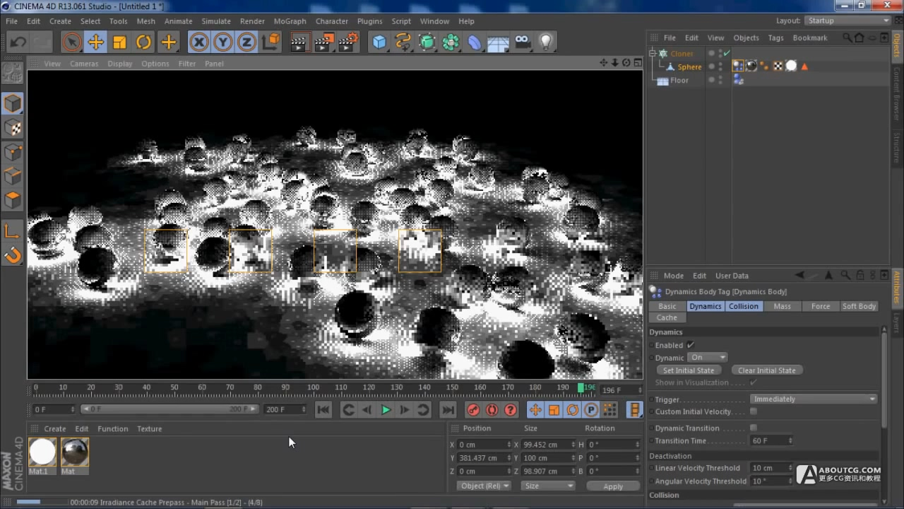 Cinema 4D Beginners Tutorial Light Balls.mp4_20150626_103321.907