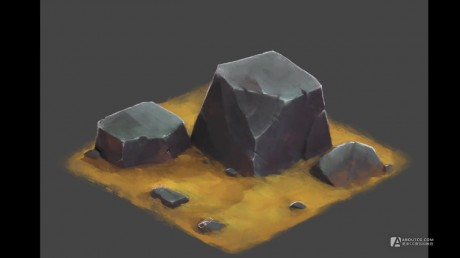 How to Draw for Games #12 - Isometric Stone.mp4_20150611_170903.503