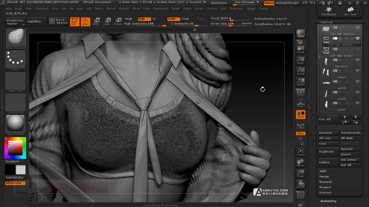 ZBRUSH 4R7_ NANOMESH FOR CLOTH TUTORIAL(DETAIL).mp4_20150622_165135.845