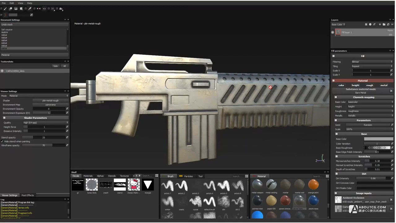 m50 assult rifle step by step in substance painter.mp4_20150614_212928.395