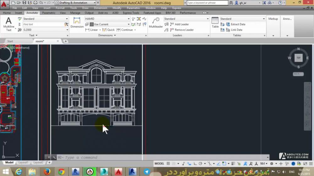 revit architecture 2016欧洲古典风格建筑建模视频