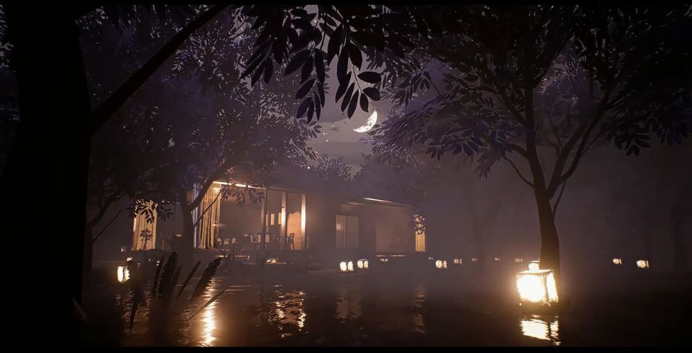 虚幻4引擎(Unreal engine4)制作的建筑渲染表现