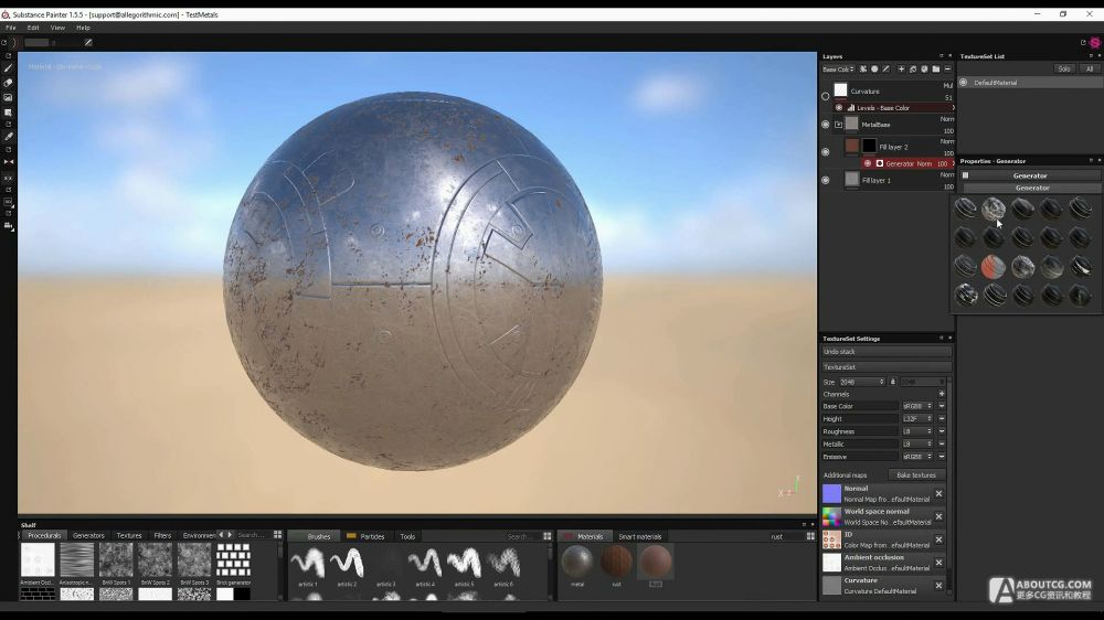 Substance Designer 和 Substance Painter开放分享平台