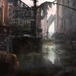 遗弃的城市 matte painting绘制视频教学