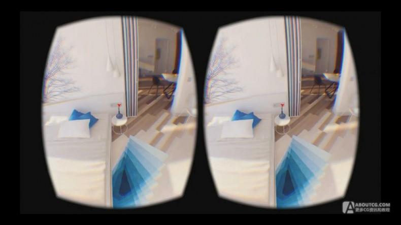 vray渲染VR虚拟现实场景案例流程教学