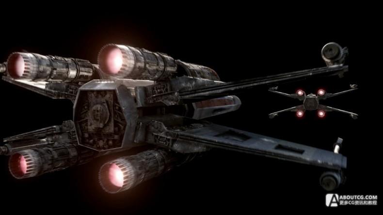 PS4的星球大战广告短片和特效镜头制作解析