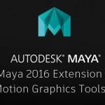 Maya 2016 Extension 2新功能Motion Graphics视频教学