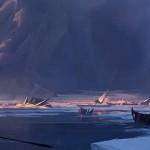 冰川的数字景绘流程演示