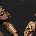 zbrush角色雕刻视频教学