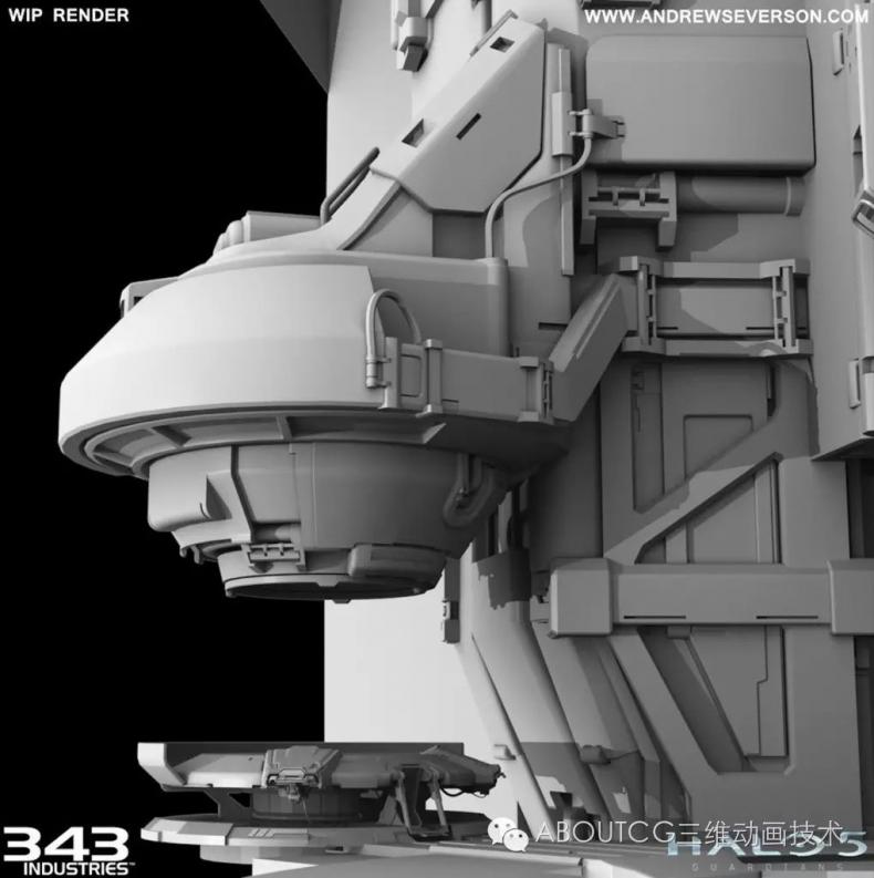 025_ABOUTCG微资讯第二十五期:科幻场景:模型,材质和优化2145