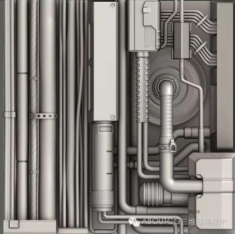 025_ABOUTCG微资讯第二十五期:科幻场景:模型,材质和优化971