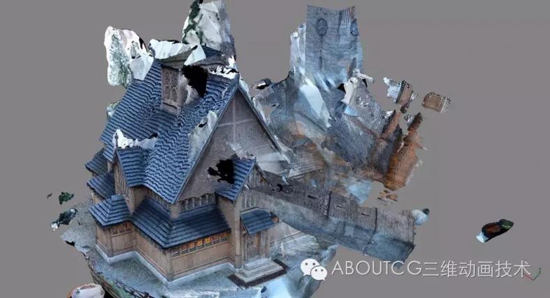 026_ABOUTCG微资讯第二十六期:场景模型与贴图制作的革命,基于拍摄的3d扫描技术3117
