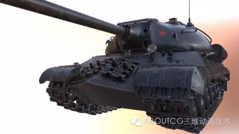 028_ABOUTCG微资讯第二十八期:制作和渲染斯IS-3重型坦克168