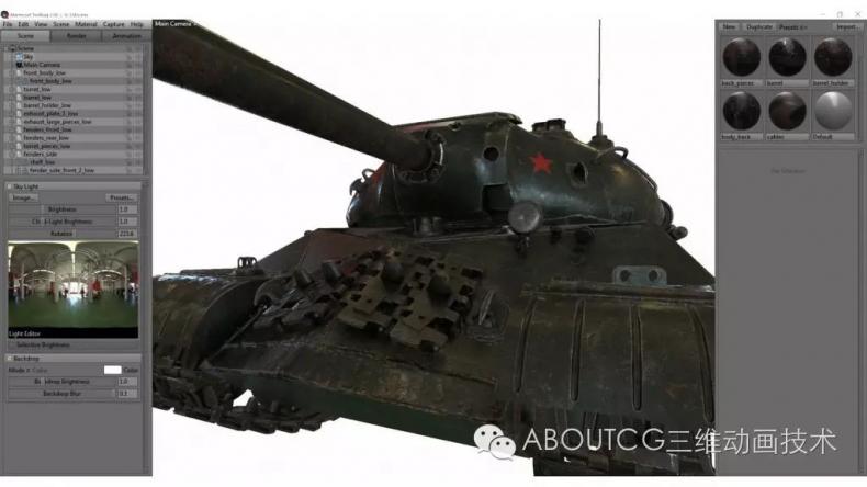 028_ABOUTCG微资讯第二十八期:制作和渲染斯IS-3重型坦克2461