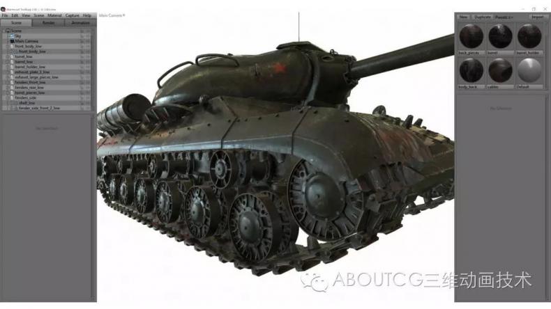 028_ABOUTCG微资讯第二十八期:制作和渲染斯IS-3重型坦克2463