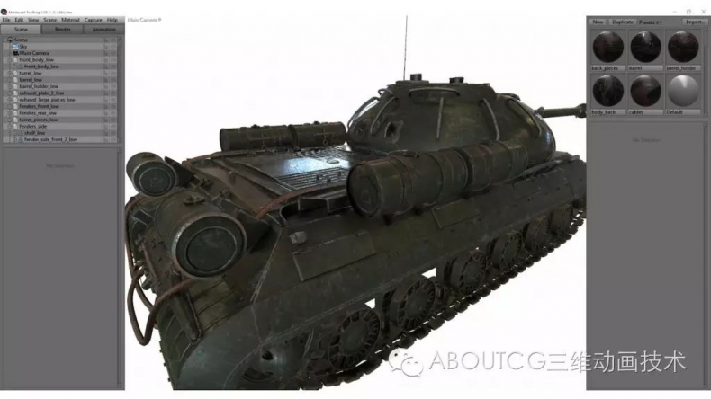 028_ABOUTCG微资讯第二十八期:制作和渲染斯IS-3重型坦克2465
