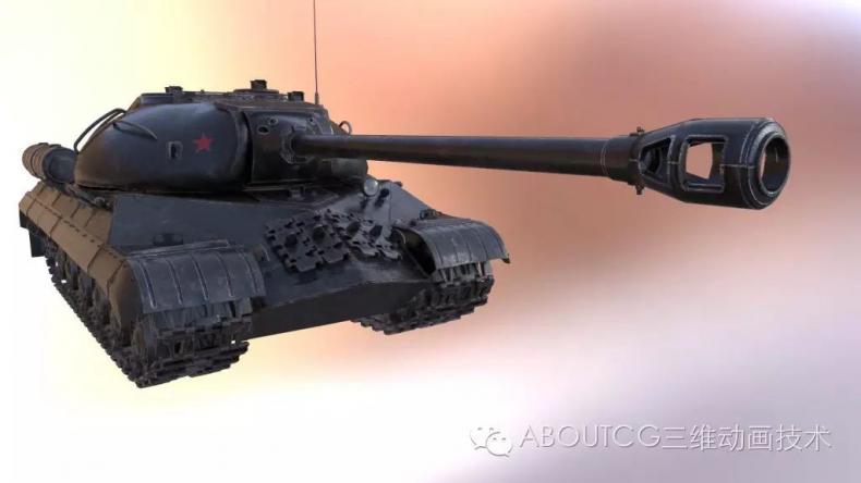 028_ABOUTCG微资讯第二十八期:制作和渲染斯IS-3重型坦克324