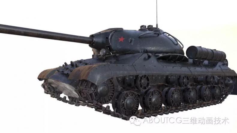 028_ABOUTCG微资讯第二十八期:制作和渲染斯IS-3重型坦克328