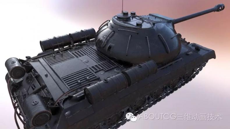 028_ABOUTCG微资讯第二十八期:制作和渲染斯IS-3重型坦克330