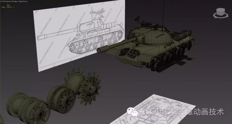 028_ABOUTCG微资讯第二十八期:制作和渲染斯IS-3重型坦克564